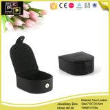 Caja de joyería negra de la manera de la alta calidad pequeña (8156)