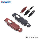 32GB Leather USB Flash Memory Driver