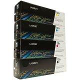 Ce270A 740A 530A 540A 400A 410A 250A 260A HP 고유 인쇄 기계를 위한 진짜 색깔 토너 카트리지