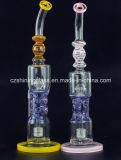 Hete Verkopende Rokende Pijp czs-350 van het Glas van de Kleur van de V.S. van de Mengeling