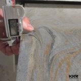 Surface solide de marbre artificielle de Corian pour le revêtement de mur