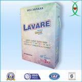 Lavanderia tripla da potência da enzima que lava o pó detergente (3kg)