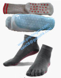 Automatische Drucken-Maschine des Socken-Silikon-3D für Antizeilensprung-Yoga-Socken