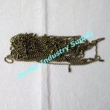 Chaînes d'argent de 2,4 mm à billes pour Décoration (de P150803A)