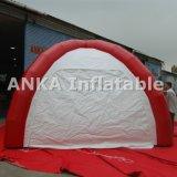 Barraca inflável dos pés da aranha vermelha com ventilador