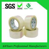 Желтовато клейкая лента или упаковка OPP лента запечатывания слипчивая