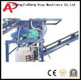 Bloco de cimento automático que faz a máquina