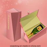 贅沢なワインの包装の紙箱かギフト用の箱