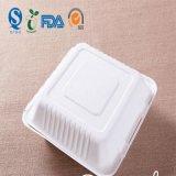 Papel de rectángulo de almuerzo del PLA