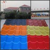 فولاذ موجة مادّيّة سقف لون