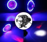 최신 판매 U7 LED Laser 기관자전차 헤드라이트 30W
