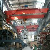 Grúa de puente doble ampliamente utilizada de la percha de la viga del Qd con maquinaria de elevación del alzamiento eléctrico