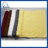 工場は供給する100%の綿のジャカードホテルの床タオル(QHD00678)を