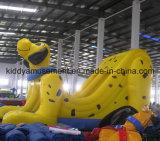 Diapositiva inflable hermosa superior del perro de la gorila para el parque de atracciones