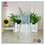Bomba de mama de silicone puro para armazenamento de leite materno