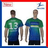 Le plus défunt plein T-shirt de sublimation de Healong pour des sports