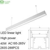40W天井灯の高い発電LED線形にライトつくこと