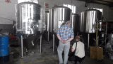 チーナンZhuodaからのSU 304材料のレストランビール醸造装置のクラフトビール機械