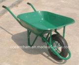 Wheelbarrow para o jardim ou o edifício (roda pneumática/roda contínua)