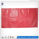 Sacos de embalagem tecidos vermelhos de 50 lbs para feijão