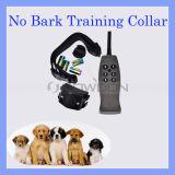 Waagerecht ausgerichteter statischer Schlag 6 + 1 Erschütterungs-Haustier-Fernsteuerungshundetrainings-Kragen