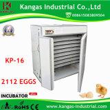 2000 incubateurs commerciaux d'oeufs d'oeufs