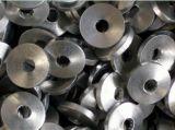 Cóncavo con los lingotes del aluminio del orificio
