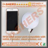 Bateria leve de acampamento recarregável impermeável do Li-íon 3.7V2200mAh da lanterna SOS do diodo emissor de luz do USB