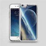 Caisse de téléphone de densité d'impression transparente de 2016 PC+TPU anti pour l'iPhone pour couverture transparente de caisse de téléphone de densité de Sasmsung l'anti