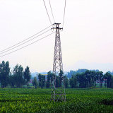 500kv Corner Angle Power Transmission Galvanized Tower