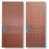 peau de porte de contre-plaqué moulée par 2.7mm avec le placage en bois de cerise normale