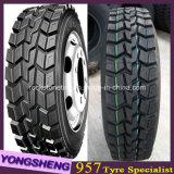 Neumático 13r22.5 del omnibus del camión del neumático del carro de África Medio Oriente Asia Sur-Oriental de la exportación