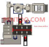 Cabine de pulverizador rápida do pó da mudança da cor de China da alta qualidade