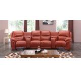 映画館のリクライニングチェアのソファーの電気リクライニングチェアのソファー価格競争が激しい6014TV