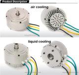 motor impulsor eléctrico de la moto Motor/MID del kit 48V /72V /96V BLDC de la conversión de la motocicleta 3kw/enfriamiento del ventilador y motor de refrigeración por líquido