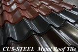 OEM PPGI에 의하여 윤이 나는 강철 루핑 격판덮개 또는 사다리꼴 색깔 입히는 강철 지붕 장