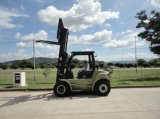 U Series Capacity 5000kg Op zwaar werk berekende 5.0t Diesel Forklift van de V.N.