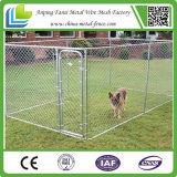 China-große im Freien Kettenlink-Hundegroßhandelshundehütte