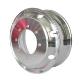 Der polierte Spiegel schmiedete Aluminiumrad mit TUV (22.5X9.00)