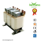 주문을 받아서 만들어진 50kVA 3 Phase Voltage Transformer 380V에 220V