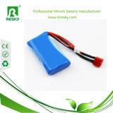 Paquetes recargables de la batería de ion de litio de 7.4 voltios