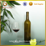 750ml Green Beer Bottle Amber Wine Bottle mit Cork Stoppers