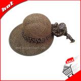 Sombrero flojo, sombrero de papel, sombrero de la mujer, sombrero de Sun
