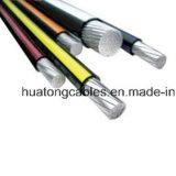 UL de vermelde UL44 StandaardIsolatie 6AWG 4AWG 2AWG 1AWG 1/0 Xhhw xhhw-2 Kabel Ud van Xlp van de Leider van de Legering van het Aluminium