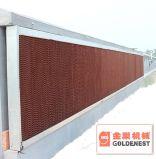 Garniture de refroidissement de nid d'abeilles évaporatif pour la serre chaude de Chambre de volaille (JCJ11-CP)