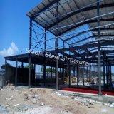 Подгонянная полуфабрикат мастерская стальной структуры для сбывания
