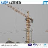 Guindaste de torre de China Qtz50-5008A do tipo de Katop para o canteiro de obras