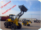 Hydraulisches Articulated Wheel Loader Er20 mit Snow Blade