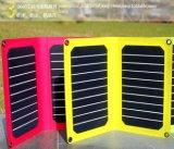 Kampierende Solaraufladeeinheit