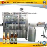 Máquina de enchimento pequena da cerveja da produção